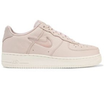 Air Force 1 Jewel Leather Platform Sneakers Pastel Pink