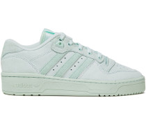 Woman Suede Sneakers Mint