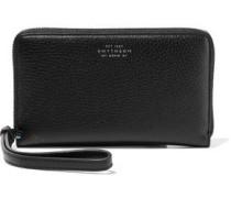Burlington Textured-leather Wallet Black Size --