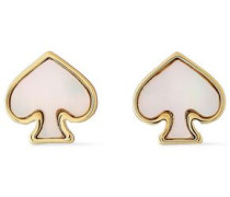 Gold-tone Mother-of-pearl Earrings Gold Size --