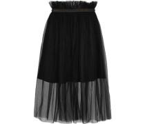 Delphia embellished tulle midi skirt