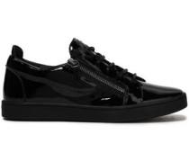 Woman Brek Patent-leather Sneakers Black