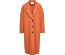 Virgin Wool-felt Coat Orange