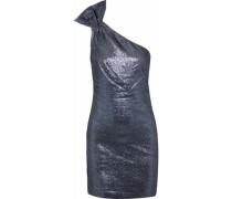 Sarrica One-shoulder Lamé Mini Dress Multicolor Size 0