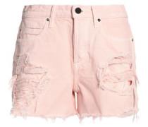 Romp distressed denim shorts