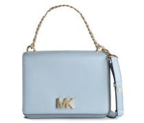 Swag Logo-embellished Leather Shoulder Bag Light Blue Size --