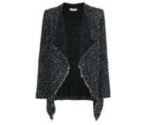 Campi draped bouclé-knit jacket