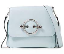 Disc Leather Shoulder Bag Sky Blue Size --