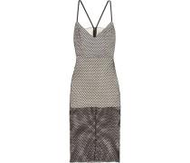 Cutout mesh dress
