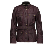 Roadmaster 2.0 belted coated cotton-canvas jacket