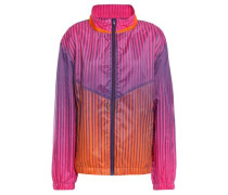 Printed Shell Jacket Violet