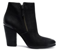 Denver burnished leather ankle boots