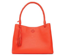 Taylor textured-leather shoulder bag