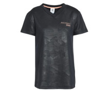 Printed French Terry T-shirt Black