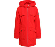 Shell Hooded Jacket Tomato Red