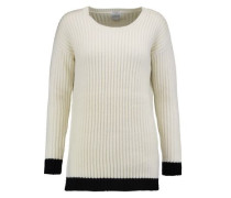 Asia ribbed wool and cashmere-blend sweater