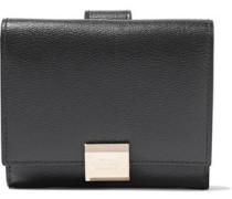 Grosvenor Textured-leather Wallet Black Size --