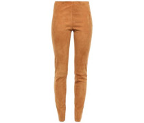 Suede Leggings Camel