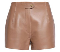 Batley leather shorts