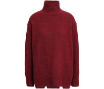 Cashmere Turtleneck Sweater Brick