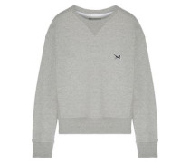 French Cotton-terry Sweatshirt Gray