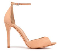 Leather Sandals Peach