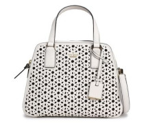Cameron St laser-cut leather shoulder bag
