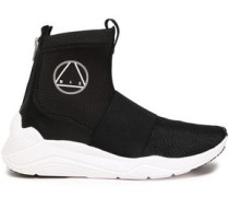 Hikaru Neoprene High-top Sneakers Black