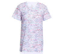 Printed Mesh T-shirt Multicolor