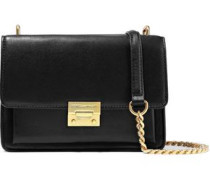 Christy Leather Shoulder Bag Black Size --