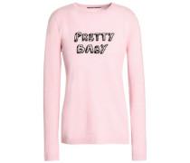 + Bella Freud intarsia cashmere sweater