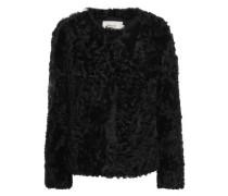Woman Shearling Jacket Black