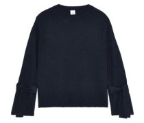 Tyler cashmere and merino wool-blend sweater