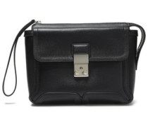 Woman Pashli Textured-leather Clutch Black