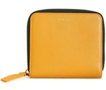 Woman Leather Wallet Mustard