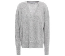 Donegal Cashmere Sweater Gray