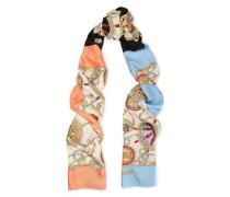 Printed Silk-twill Wrap Multicolor Size --