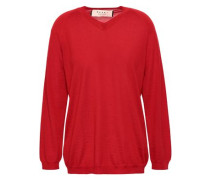 Cashmere Sweater Tomato Red