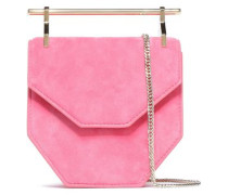 Amor Fati Suede Clutch Pink Size --