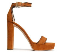 Holly suede platform sandals