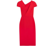 Burfield wool-crepe dress