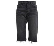 High-rise Straight-leg Jeans Charcoal  4