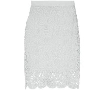 Scarlett Cotton-lace Skirt Sky Blue