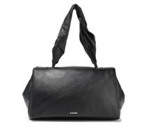 Leather Shoulder Bag Black Size --