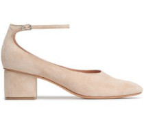 Suede Pumps Sand
