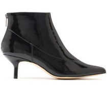 Tiana Suede Ankle Boots Black