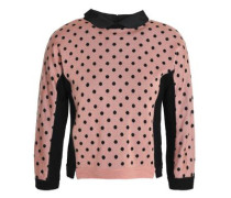 Printed wool, silk and cashmere-blend sweater