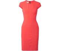 Stretch-crepe mini dress
