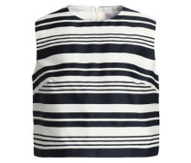Striped jacquard top