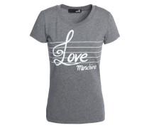 Printed stretch-cotton T-shirt